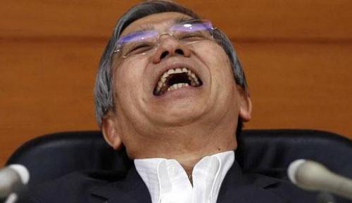 Банк Японии выставляет ордер на покупку неограниченного объема долга, панически увеличивает POMO в ответ на резкий рост ставок
